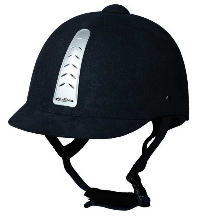 Шлем для верховой езды halorider черный