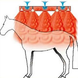 Душ тепловой, Equus Design