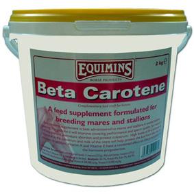 Подкормка для кобыл и жеребцов, участвующих в разведении Beta Carotene, Equimins Англия 2 кг