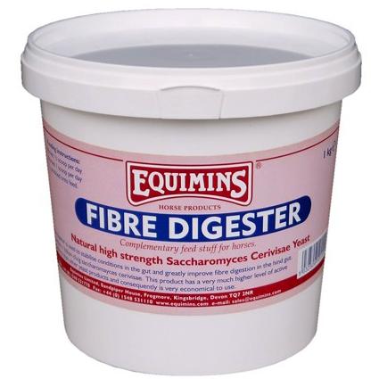 Природные высокопрочные дрожжи Saccharomyces Cerivisae. Fibre Digester используется для стабилизации работы кишечника и значительно улучшают переваривание волокон в задней кишке Fibre Digester, Equimins Англия 1 кг