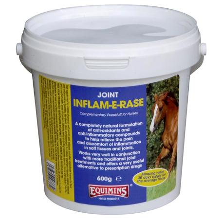 Подкормка для поддержания здоровых костей, связок и суставов Inflam-E-Rase, 600 гр