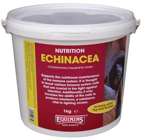 Подкормка для иммунитета с эхинацеей 1 кг Equimins Echinacea Herbs